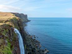 Kilt Rock in Scotland