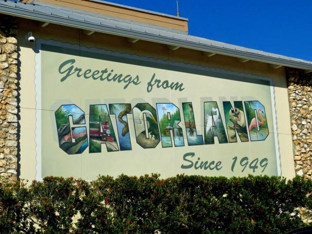 Gatorland in Orlando, Florida