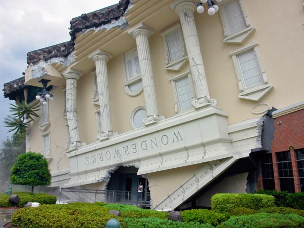 Wonderworks Museum in Orlando, Florida