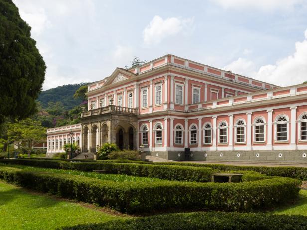 Imperial Museum in Petrópolis, Brazil