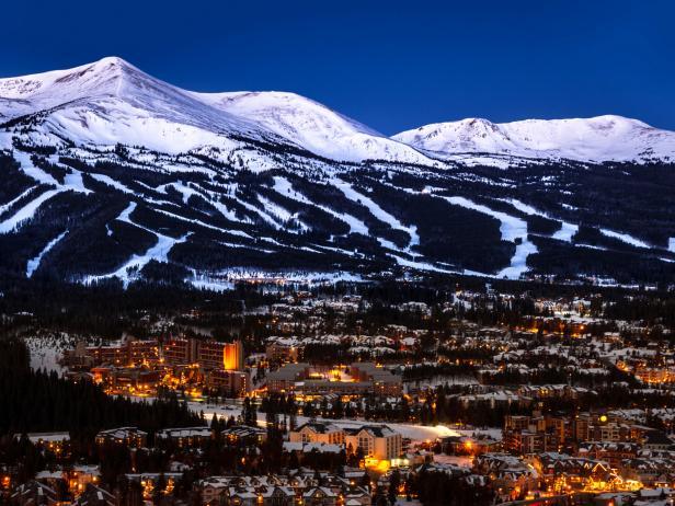breckenridge, colorado, skiing, snowboarding, mountain, village