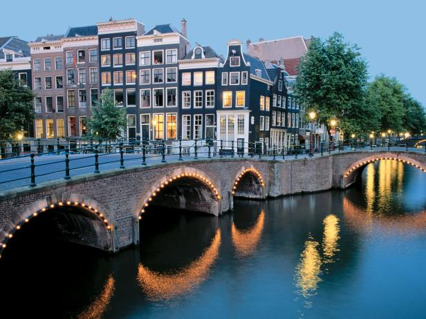 Canals in Holland