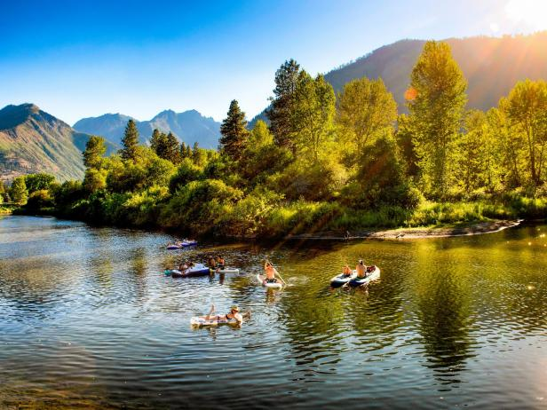 Wenatchee River, Leavenworth, WA