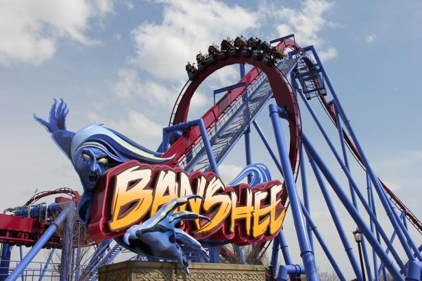 Banshee, Kings Island Park, Mason, Ohio