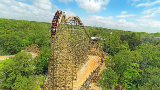 Outlaw Run, Silver Dollar City, Branson, MO