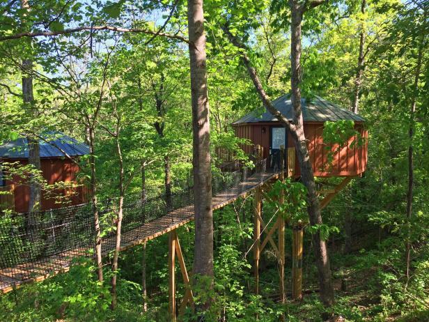 Historic Banning Mills Treehouses