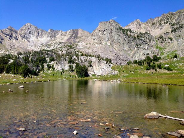 Beehive Basin Hike in Big Sky, Montana
