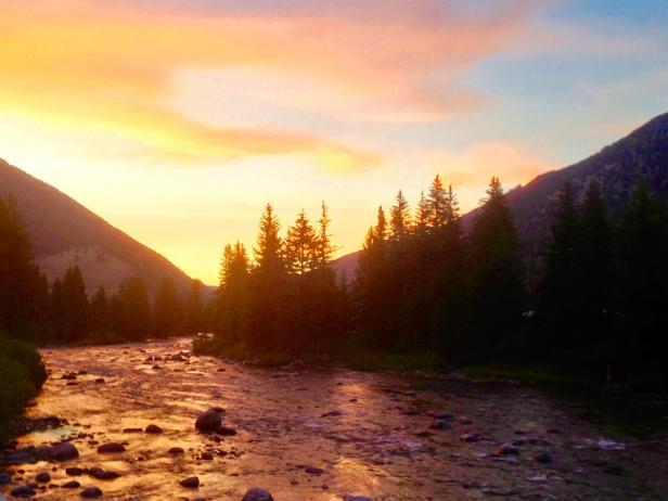 Gallatin River, Big Sky, Montana