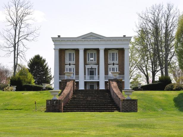 Classic Greek Revival Home
