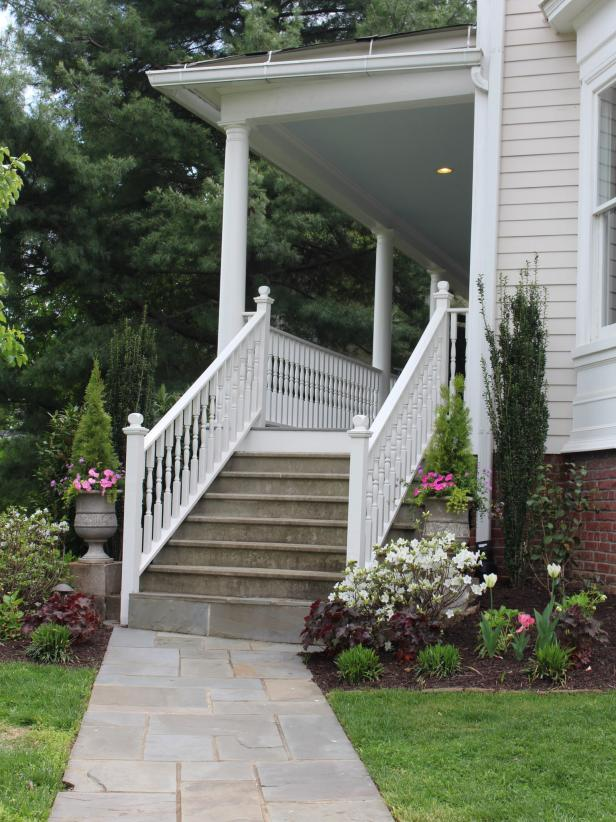 Welcoming Porch in Fredericksburg, Virginia