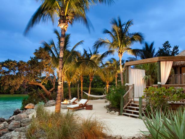 Little Palm Island Open-Air Bungalow