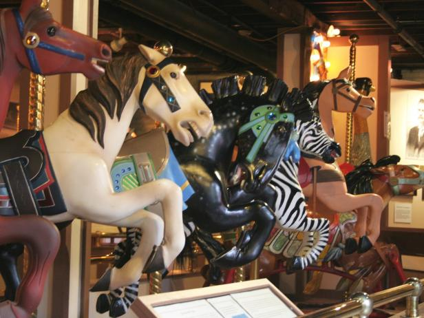 Herschell Carrousel Factory Museum in Tonawanda, New York