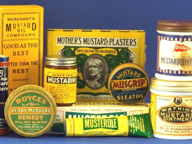 Mustard Memorabilia at the National Mustard Museum