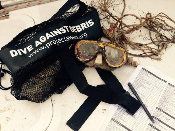 Project AWARE For PADI Dive Debris