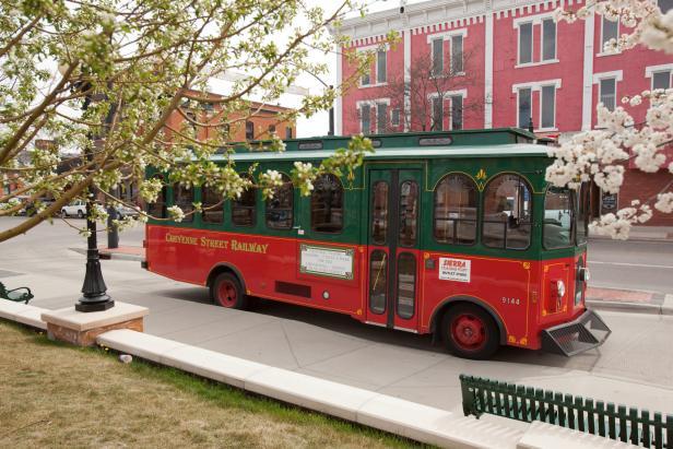 Trolley Tour in Cheyenne, Wyoming