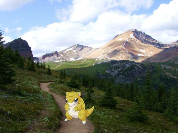 Pokemon in Alberta, Canada