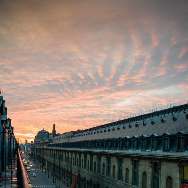 View of the Louvre, Paris