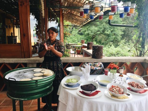 Cooking Class, Casa Palopo