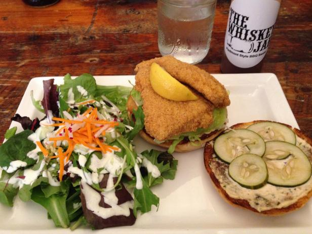 Lunchtime Fare at The Whiskey Jar in Charlottesville
