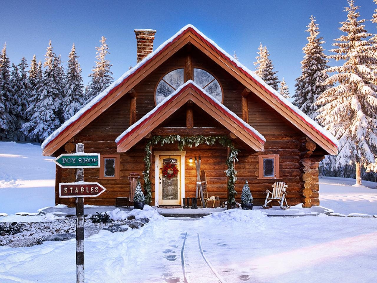 Santa 39 s north pole home is worth how much travel for House pictures