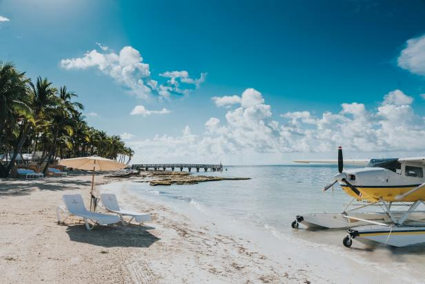 Seaplane in Key West
