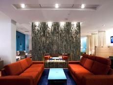 These elegant spaces are topflight.