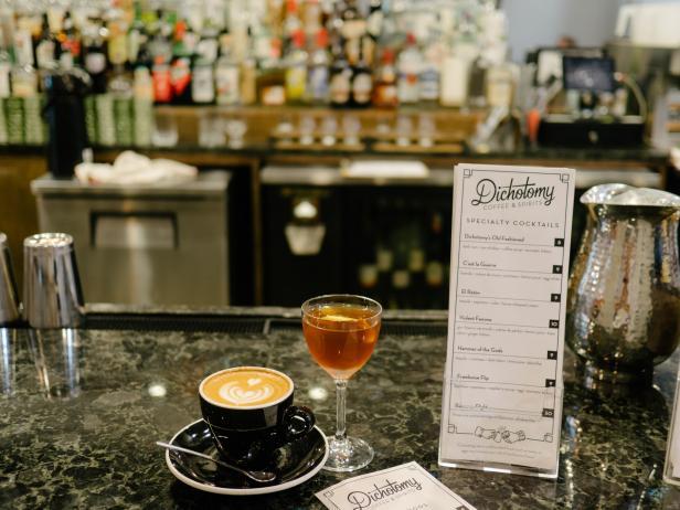 Inside Dichotomy Coffee and Spirits