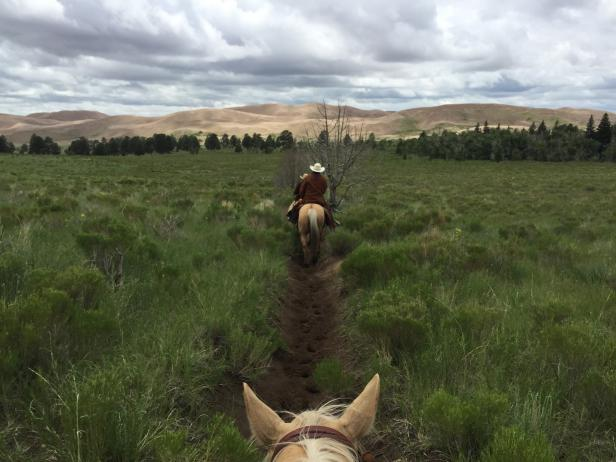 Trail Ride at Zapata Ranch