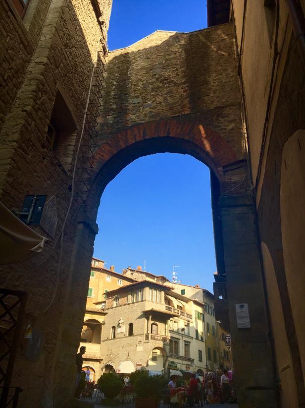 Arch in Cortona, Italy