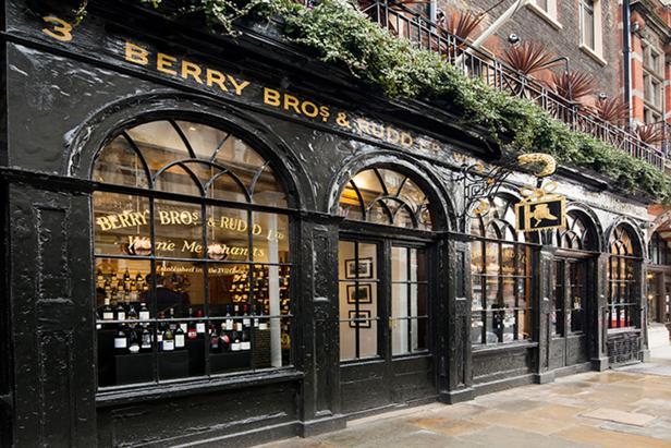 Berry Bros. & Rudd in London, England