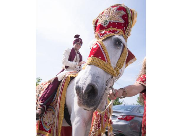 Wedding Traditions, Groom on Camel