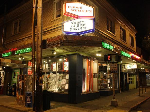 Easy Street Records, Seattle, Wa.
