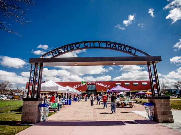 NewBo City Market in Cedar Rapids, Iowa