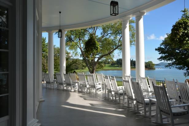 Getaway Lake and Otesaga Resort Hotel