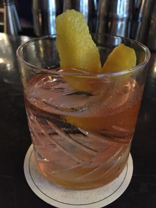 Oaxacan Old Fashioned at Beekman Hotel