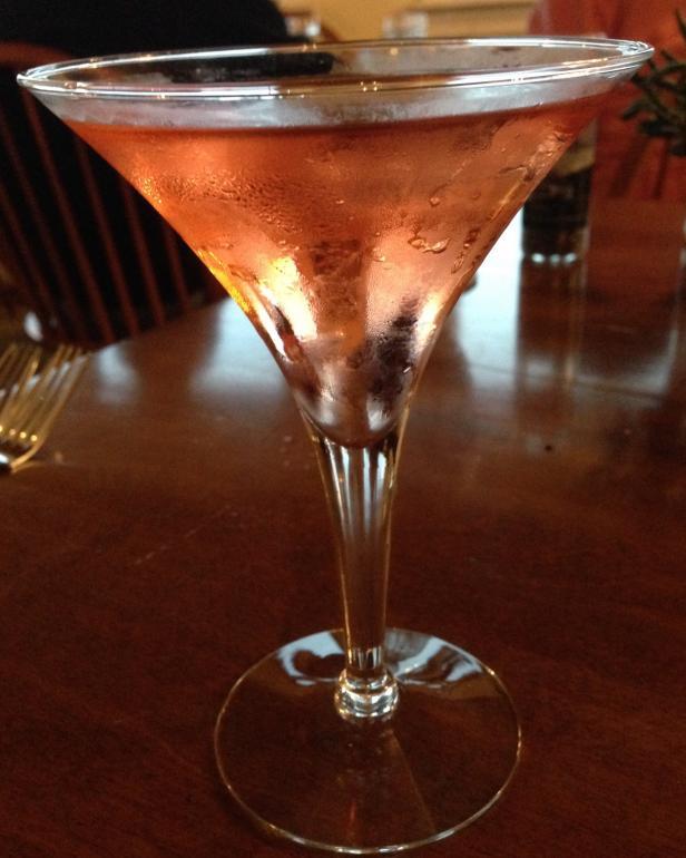 Cranberry Gin Martini