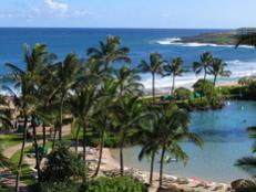 Kauai is home to Poipu, one of the world's best beaches.