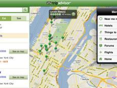 Trip Advisor's app gets you quick, reliable information on accommodations, food and sights.