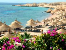 North Africa's beaches are known for great scuba and windsurfing.