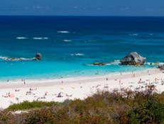 Bermuda's famous pink-sand beaches are considered some of the loveliest seaside retreats in the world, and the shores of Horseshoe Bay are no exception.