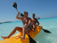 RSVP Vacations, Two men kayaking