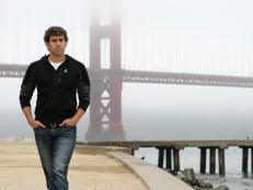 Marcus Sakey at the Golden Gate Bridge