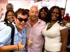 Andrew Zimmern at Motor City Soul Food