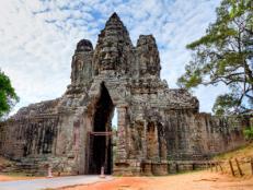Explore Cambodia's temples.
