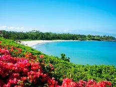 Located on the Kohala Coast, Kauna'oa Bay is quintessential Hawaii.
