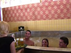 This Austrian brewery doesn't have just one pool of beer: it has seven.