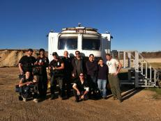 Don Wildman, crew and designers