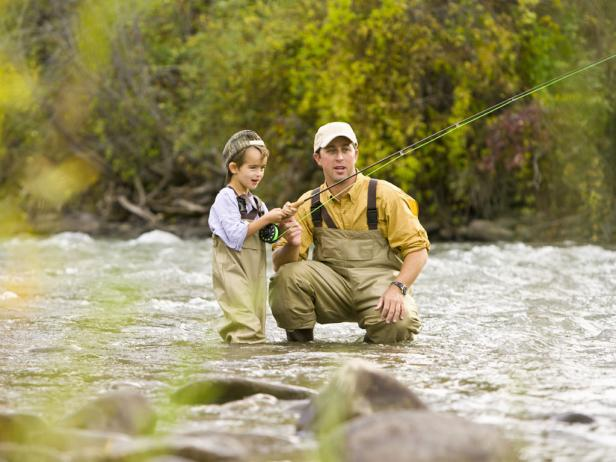 Fly-Fishing, Idaho