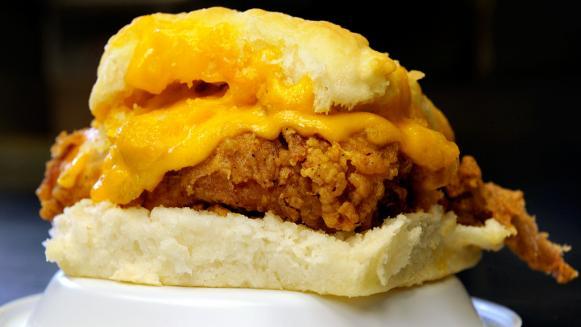 Chicken Cheddar Biscuit