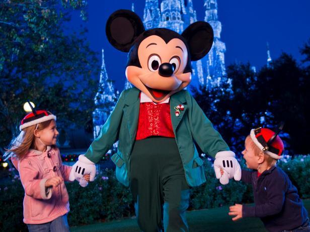 Disney World holiday travel